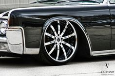 Clean Lincoln Continental ... Suicide