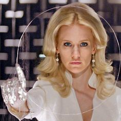 Oh The Hair 2!: January Jones as Emma Frost in X-Men: First Class