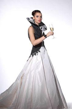 More dramatic wedding dress by Jukka Rintala Designer Wedding Dresses, Finland, Wedding Events, Designers, Tulle, Couture, Fashion Design, Inspiration, Clothes