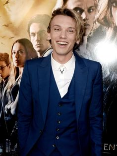 Jamie Campbell Bower in Alexander McQueen such a beautiful smile!!