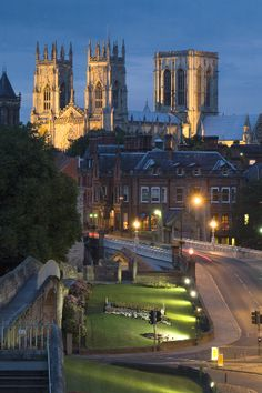 York Cathedral, York, UK - pretty is as pretty does, I always say. Our, Durham Cathedral, doesn't charge you to come in - shame on York.