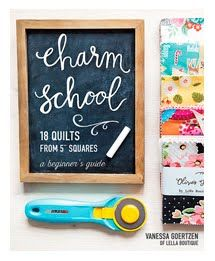 Charm School - By Vanessa Goertzen of Lella Boutique - Book/Patterns - 18 quilts using squares - Great for beginners! Man Quilt, Book Quilt, Charm Pack Quilt Patterns, Sewing Patterns, Reuse Fabric, Quilt Binding, Flying Geese, Square Quilt, Fabric Scraps