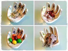 Coupelle en forme de main pour la fête des mères – Mes humeurs créatives by Flo