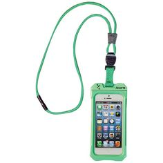 iPhone 4/4S Dri Cat Neck iT Waterproof Case with Lanyard (Lime)