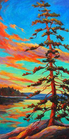 Painting Inspiration, Art Inspo, Guache, Acrylic Art, Tree Art, Landscape Art, Painting & Drawing, Photo Art, Watercolor Paintings