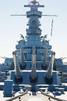 Battleship Alabama memorial in Mobile, Alabama.