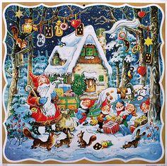 traditional advent calendar - Google Search