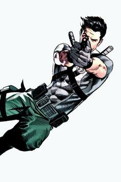 """zatanns: """" Dick Grayson (Agent 37) in Midnighter #4 (2015) """""""