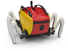 The Crabster CR200 is a car-sized vehicle based on a crab, designed for underwater exploration.