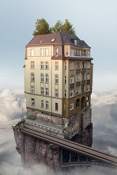 Artist Erik Johansson is skilled in both photography and photo manipulation. He cites Dali, Magritte and Escher among his inspirations. Erik sells these wonderful creations as prints through his website. Surreal Artwork, Surreal Photos, Photographs, Photomontage, Surrealism Photography, Art Photography, Photography School, Levitation Photography, Photography Challenge