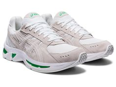 Men's GEL-KYRIOS | White/White | Sportstyle | ASICS Mesh Fabric, White White, Asics, Running Shoes, Fashion Shoes, Silhouette, Spring, Sneakers, Runing Shoes