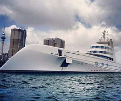 Stunning images of one of the world's most talked about #yachts taken by some…