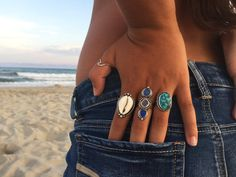 Wave Ring-Sterling Silver Endless Wave Surf by LisaChristineShop