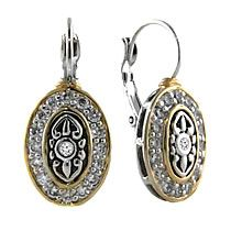 LOVE!!! French Wire Filigree Oval Earrings, John Medeiros Jewelry $95