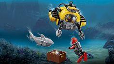 60093 Helicóptero de Exploración Submarina - Productos - City LEGO.com