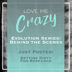 Want to know the whats and what nots of the contemporary romance Love Me Crazy by Camden Leigh? Access Week 6 of the Evolution Series: Behind the Scenes of Love Me Crazy and learn how I got dirty for research. The series contains never before seen cut scenes, character studies and why certain elements were chosen for Cassidy & Quinn's new adult southern love story. This book is available for download at Amazon http://amzn.to/2d29glZ  Available on audible.
