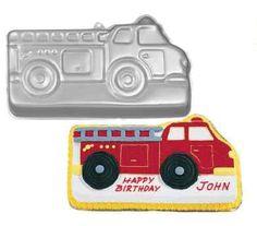 firetruck cake mold
