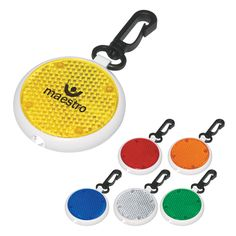 Our blinking lights are a great way to keep safe while running or biking in the evening. They comes in lots of great colors and will clip on your belt loop or back pack. Imprint your logo for a great giveaway at fun runs or health and safety fairs for kids!