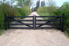 country home automated gate images - Google Search                                                                                                                                                                                 More