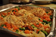 Home Away From Home: Baked Salmon a la Conti's