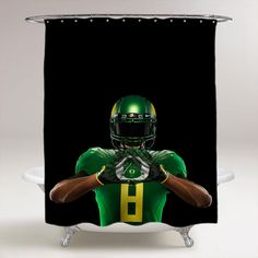 If You Are A Big Fan Of Oregon Ducks, Then You Will Definitely Need To  Check Out This Cool Oregon Ducks College Football Bathroom Shower Curtain
