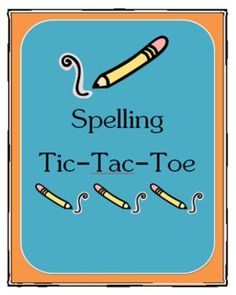 We love choices and so do our students. This packet includes tic-tac-toe boards to use spelling practice. Students can select from the different activities that best suit their learning style. The 17 spelling activities have been randomly placed onto 6 boards. Also included are page size posters for each of the learning activities that can be used for a bulletin board. A blank tic-tac-toe board has been added as extra.