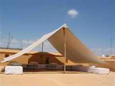 Riad Al Jazira – Marrakech, Morocco: One of the roof-top Berber tents. 2012 winner