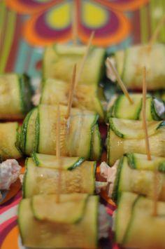 Rolinhos de abobrinha, pra fazer da sua festa um sucesso! | cozinha pequena