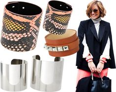 if you're going to wear one cuff bracelet, you might as well take two