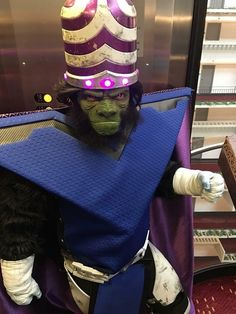 Anime Costume Amazing Mojo Jojo cosplay - More memes, funny videos and pics on Anime Cosplay, Epic Cosplay, Cosplay Makeup, Amazing Cosplay, Cosplay Outfits, Funny Cosplay, Male Cosplay, Last Minute Halloween Costumes, Halloween Cosplay