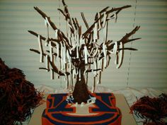 thewareaglereader.com    Football Birthday cake photos. The best football cakes on Pinterest and the best football cakes on the web! Football cake ideas such as Football Stadium cakes, football field cakes, football helmet cakes, and football logo cakes. #football #cakes #gifts