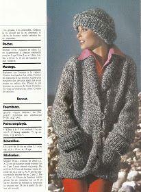 Madame Capucine - Patrons GRATUITS des années 70: Magazine tricot PINGOUIN N°7 (2/3)