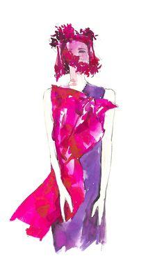 Keira Knightley   Vita Yang #illustration