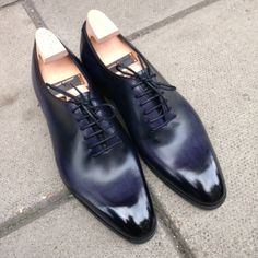 Gaziano Girling MTO Cooper Deep Grape Patina, exclusively @ 39 Savile Row