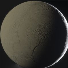 NASA's Cassini spacecraft has provided planetary researchers the first evidence that Enceladus – the sixth-largest of Saturn's moons – exhibits signs of hydrothermal activity which may resemble that seen in the Earth's oceans. This colour view of Enceladus was taken by Cassini spacecraft on 31 January 2011, from a distance of 50,330 miles (NASA / JPL-Caltech / SSI / G. Ugarković)