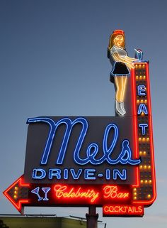 Vintage neon sign (seen this one in person!