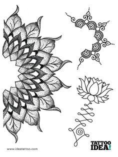 Resultado de imagen de tattoo tree mandala