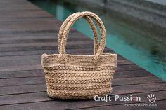 Crochet Star Stitch Tote