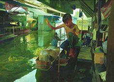 Andrew Hem è un pittore e illustratore Cambogiano residente a Los Angeles, diplomato all'Art Center College of Art and Design.