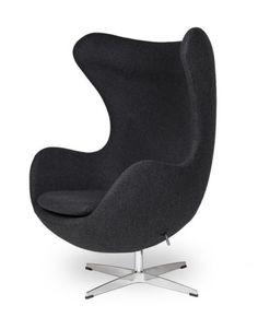 EGG-Sessel-in-Dunkelgrau-Dark-Grey-EGG-Chair-by-Arne-Jacobsen 515€