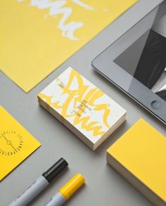 Visual Identity for Dylan Culhane by Ben Johnston | Incredible Types Etsy Logo : http://www.etsy.com/shop/BannerSetDesigns