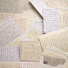 Handwritten notes are just that: hand-written. They are valuable, they are personal, they are penned not only from your mind but from your very fingertips. A wr letters hand written The Handwritten Note; A Precious Point of Contact Aesthetic Letters, Aesthetic Writing, Pen Pal Letters, Old Letters, Letters Mail, Military Letters, Letters To The Bride, Paper Letters, Letters To Juliet