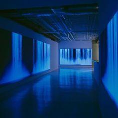 #light4space #installation #blue #color #light #interior #glow #tumblr #aesthetics #aesthetictumblr #aesthetic #installationart #glowblog #glowgrunge #grunge #grungetumblr #glowing #darkglow #room #gallery #art