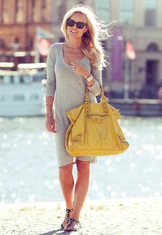 A touch of yellow (by Sofis Snapshots) http://lookbook.nu/look/3755455-A-touch-of-yellow
