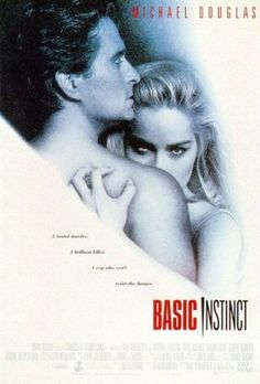 Basic Instinct :1992 - Sharon Stone and Michael Douglas.... what a shocking ending was that...