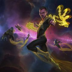 Sinestro by Hunter Schulz Game Character Design, Comic Character, Infinite Crisis, Supergirl Superman, Green Lantern Corps, Green Lanterns, Univers Dc, Arte Dc Comics, Dc Comics Characters