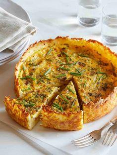 Breakfast Quiche, Breakfast Dishes, Egg Quiche, Easy Quiche Crust, Quiche Crust Recipe, Brunch Dishes, Breakfast Platter, Bacon Quiche, Ideas