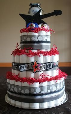 Rock Theme Baby Shower | to be a giant hit at any baby shower for specific requests please ...