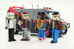 This is a gallery of classic vehicles from 80s pop culture constructed in LEGO form by LEGOmaniac and Bricks Brother contributor Ralph.