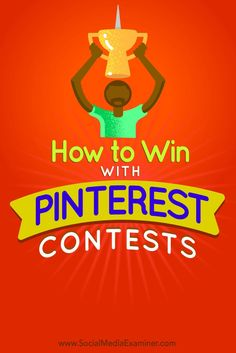 Have you considered running a Pinterest contest?  Pinterest contests can increase your followers, boost engagement, and promote your brand and products.  In this article, youll discover how to easily host and manage a winning contest on Pinterest. Via @s